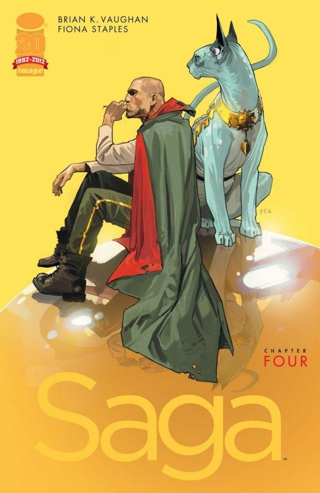 Saga #4 Cover