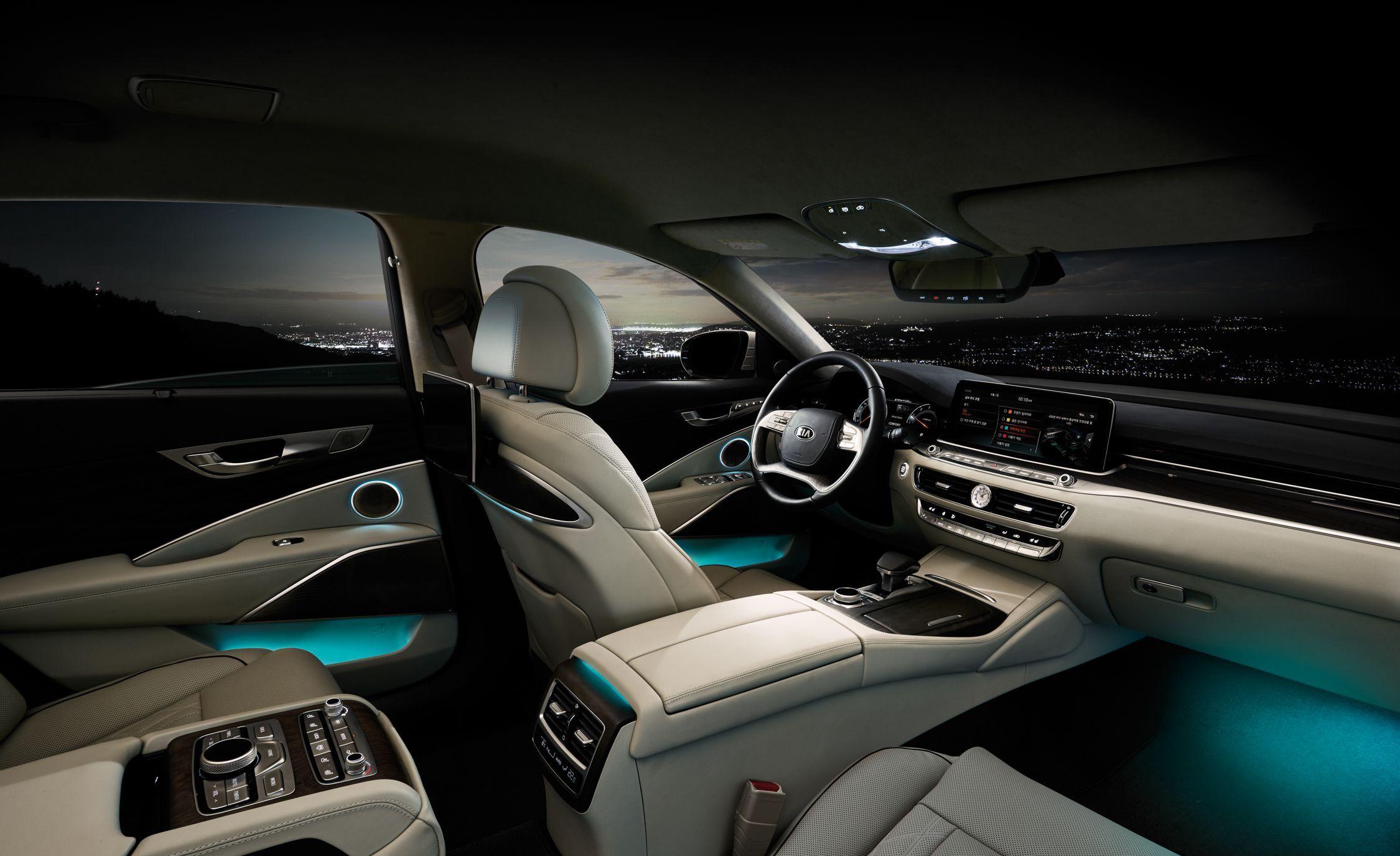 Check Out The 2019 Kia K900 Interior Koreancar 2019 K900 Interior Westside Kia Kia Car Interior Luxury Car Price