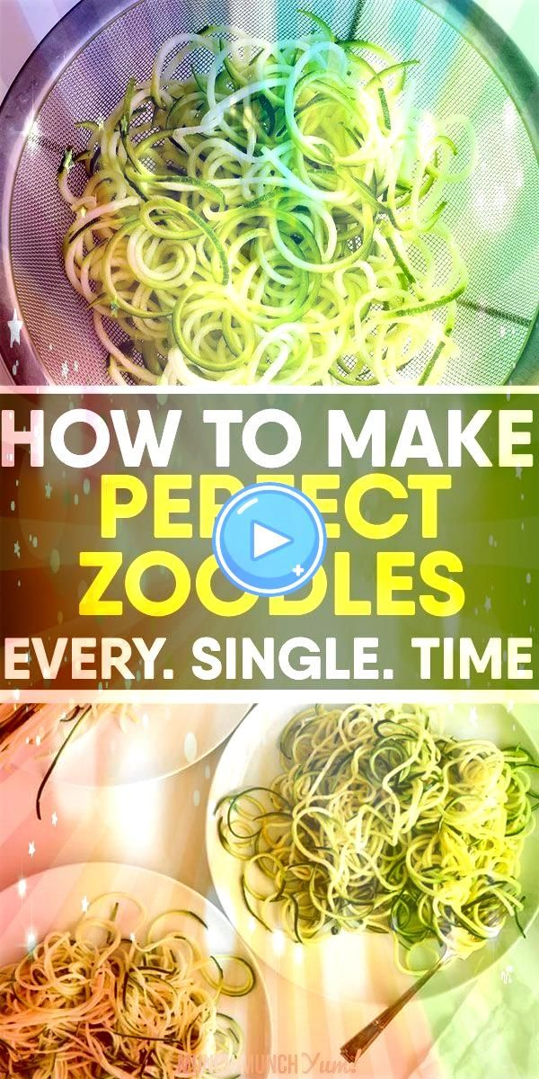to learn how to cook low carb ZUCCHINI NOODLES perfectly every time Get the best tips on how to make zoodles with or without a spiralizer freezing noodles and easy health...