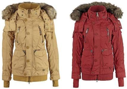 khujo Ulrika Chaqueta De Invierno Red abrigos y chaquetas Ulrika red Khujo Invierno Chaqueta Noe.Moda