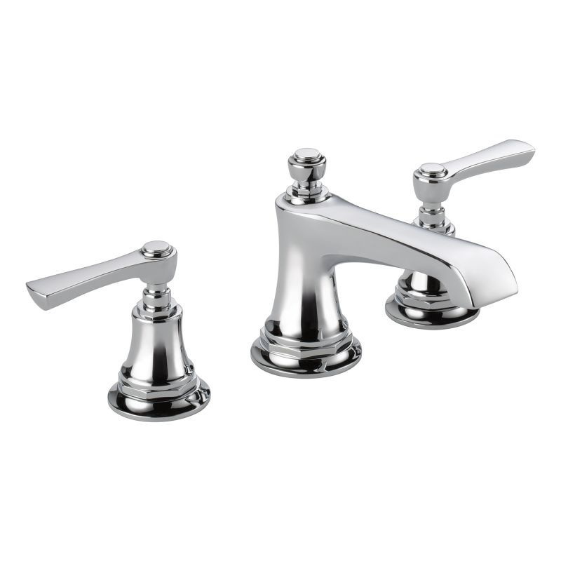 Brizo 65360LF-LHP Rook Widespread Bathroom Faucet with Pop-Up Drain