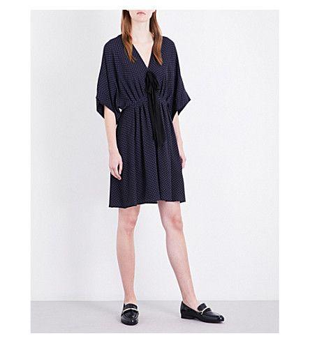 CLAUDIE PIERLOT Roadtrip Crepe Dress. #claudiepierlot #cloth #dresses
