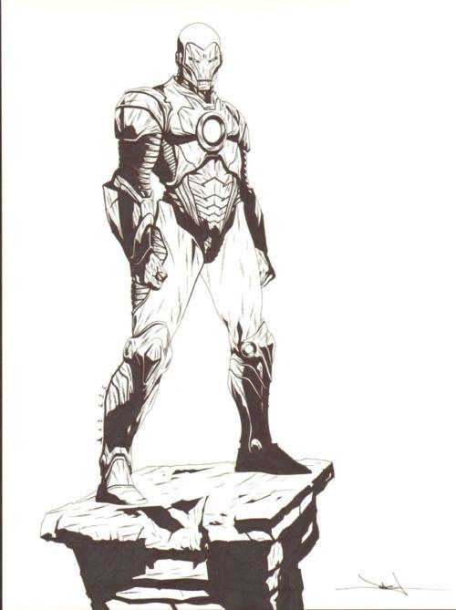 Jae Lee - Iron Man