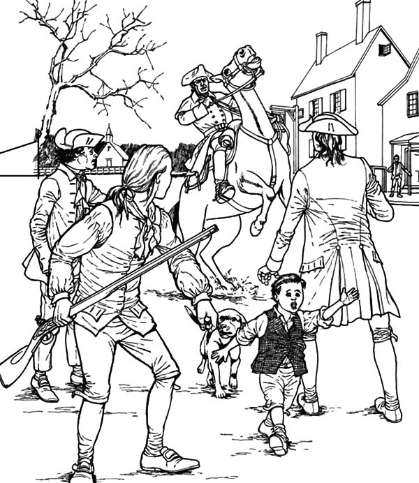 Patriots Day Civil War Coloring Pages : Best Place to ...