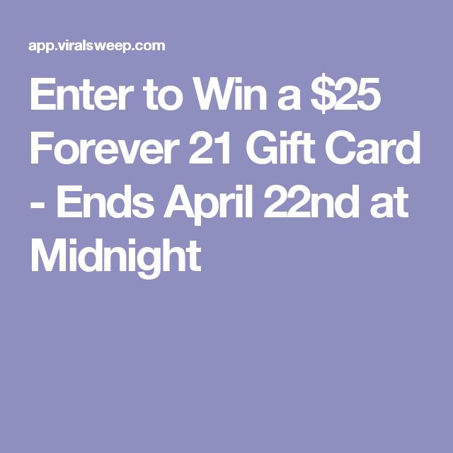 Cheap forever 21 gift card
