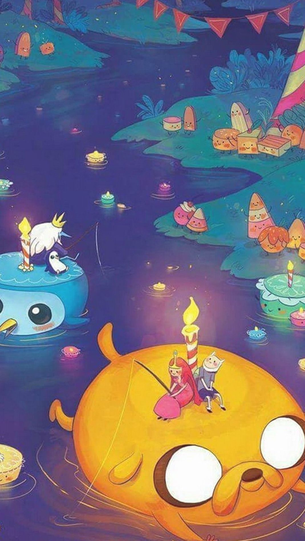 Adventure Time Tapete Iphone Hd Best Wallpaper Hd Papeis De Parede