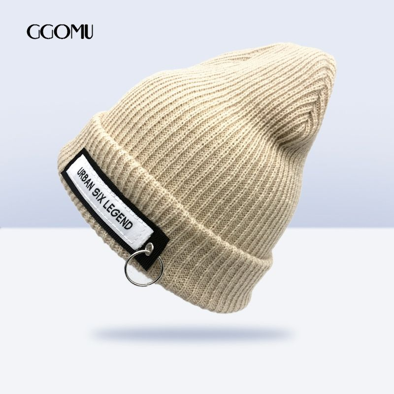 d70ff82890764 GGOMU Brand Casual knitted hat For Men Women Winter Hat Skullies Beanies  Elasticity Knitting Warm hats