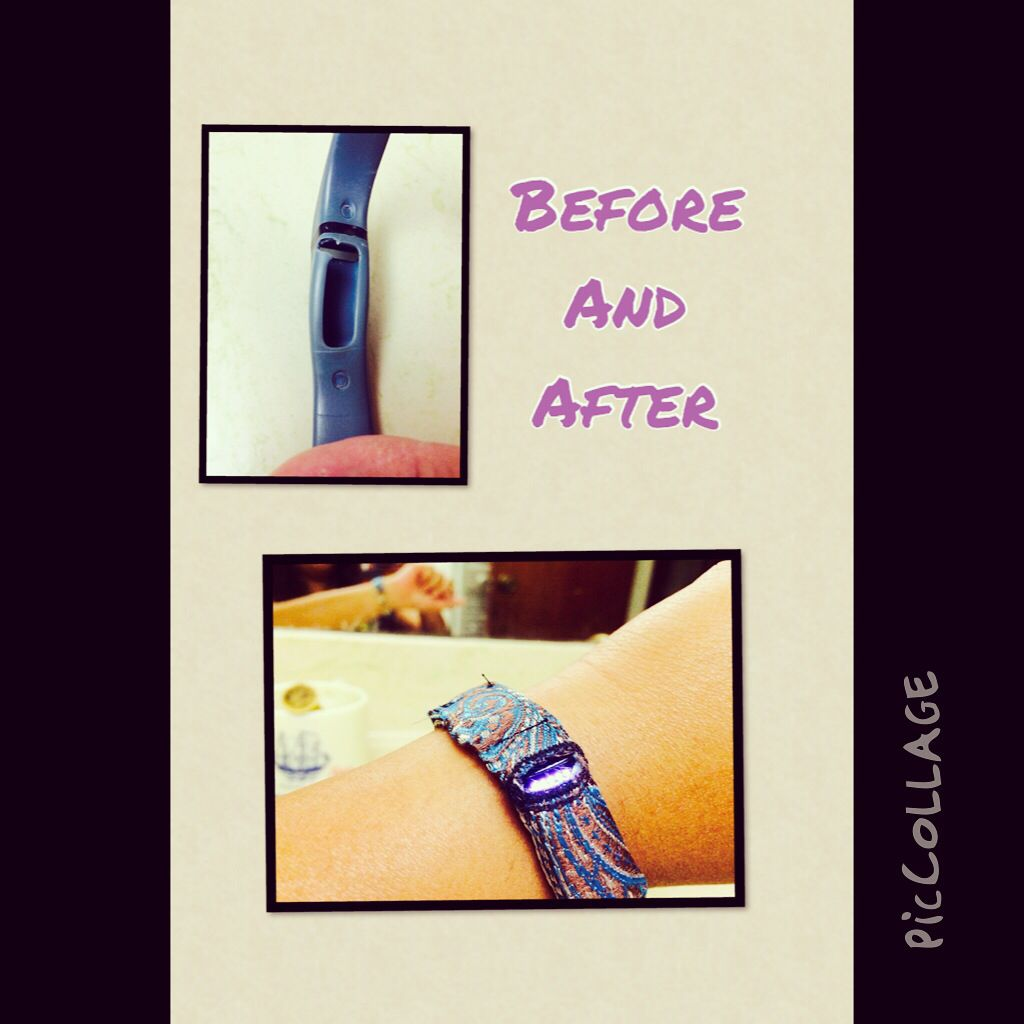 My Diy Fitbit Flex Band Fitbit Bands Diy Fitbit Bands Creating Jewelry