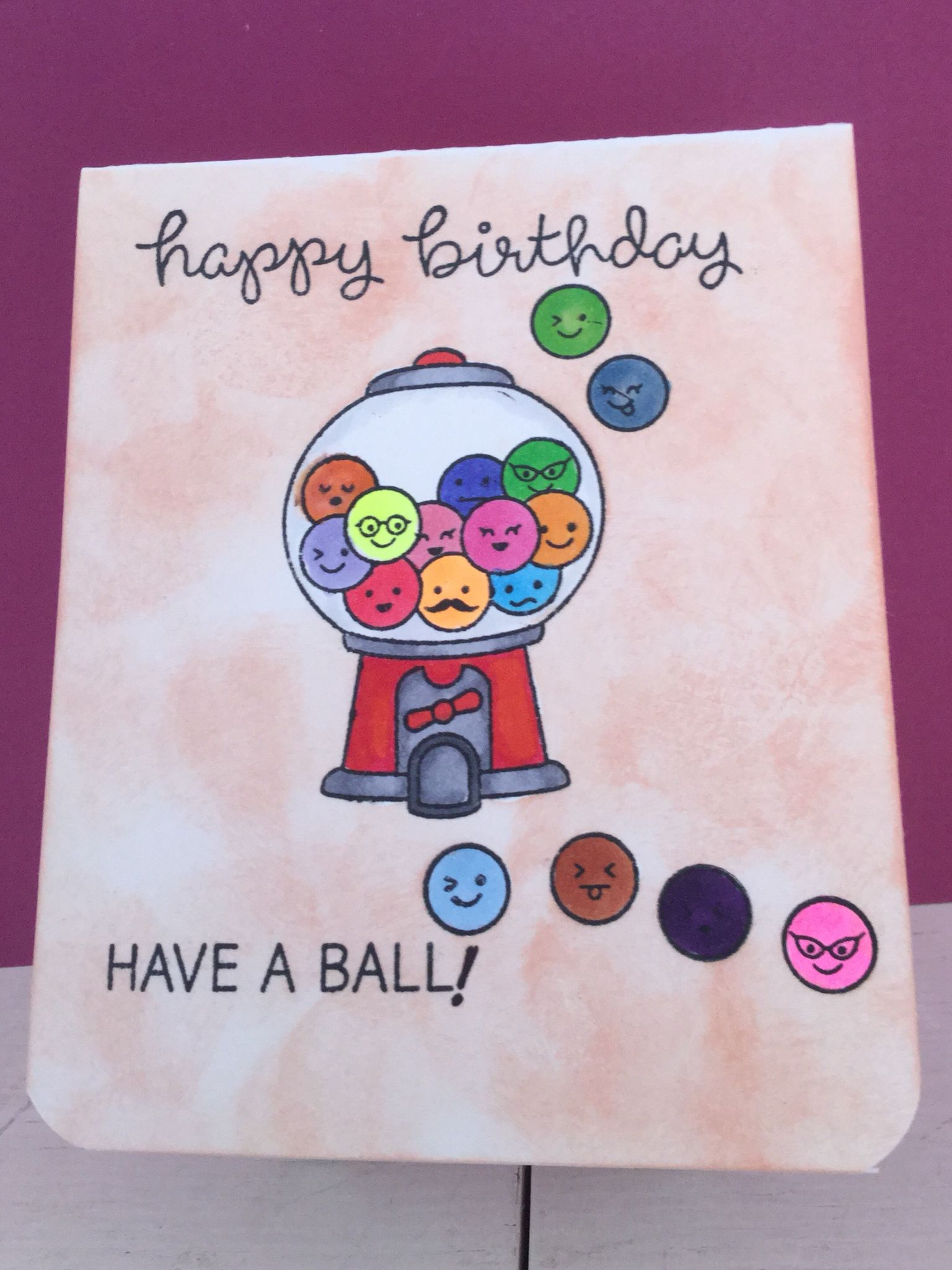 lawn fawn  sweet smiles stamps  birthday cards diy lawn