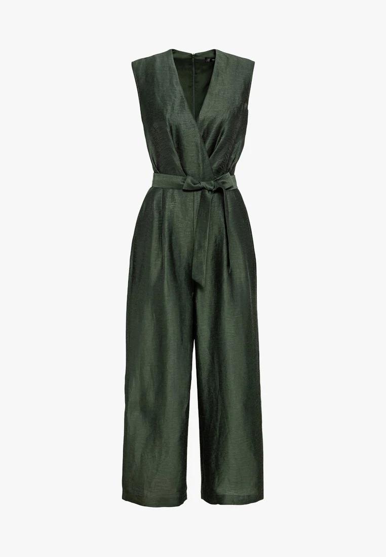 hallhuber jumpsuit - dark green - zalando.de   hallhuber