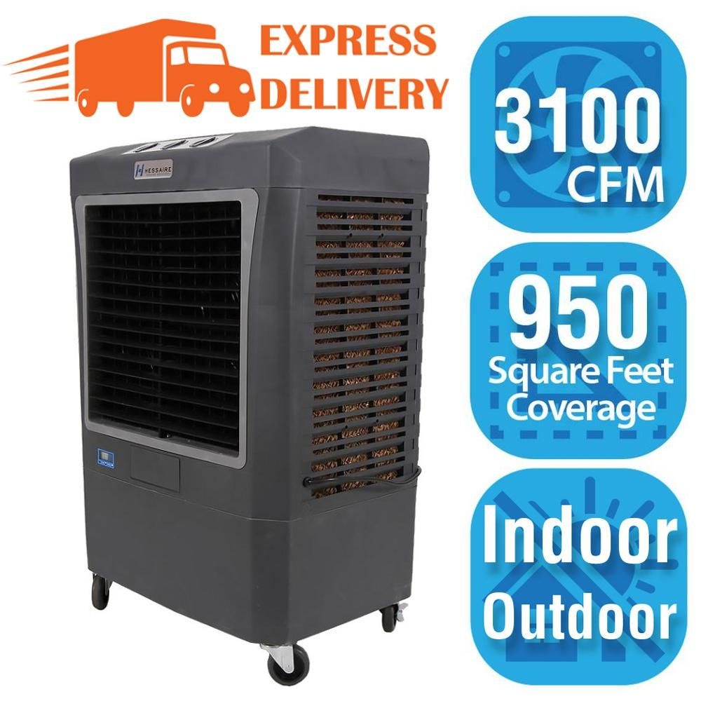 Hessaire 3,100 CFM 3Speed Portable Evaporative Cooler