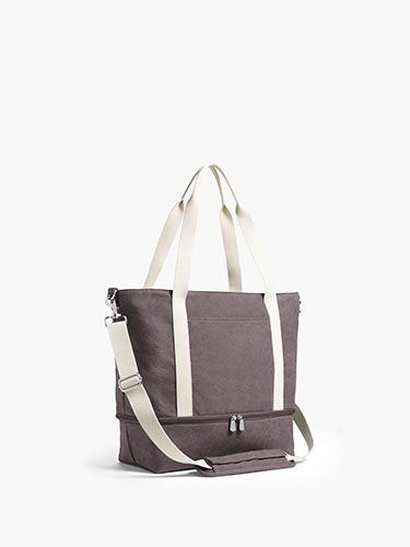 f0964f8ad73 The Catalina Deluxe Tote - Washed Canvas - Dove Grey in 2019 | Shop ...