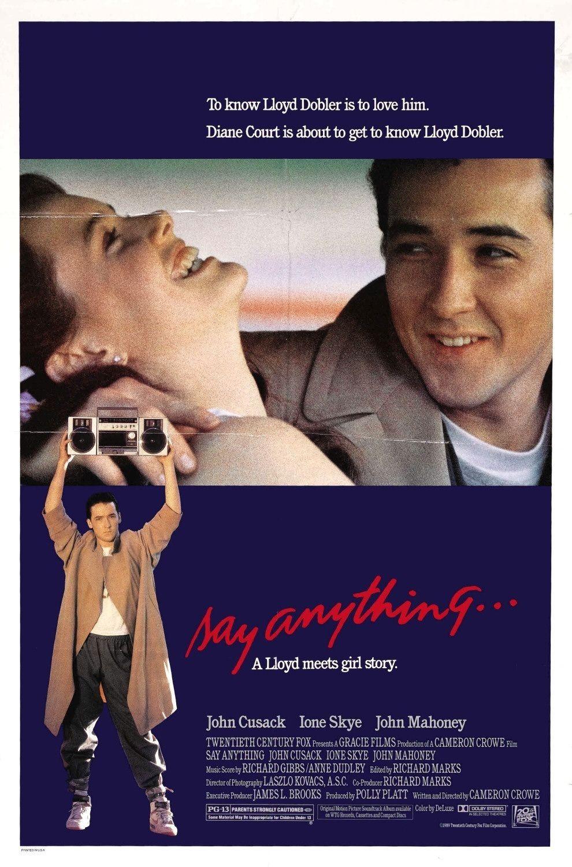 i>Say Anything</i> (1989)   Movies   Pinterest   Movie, 80s movies ...