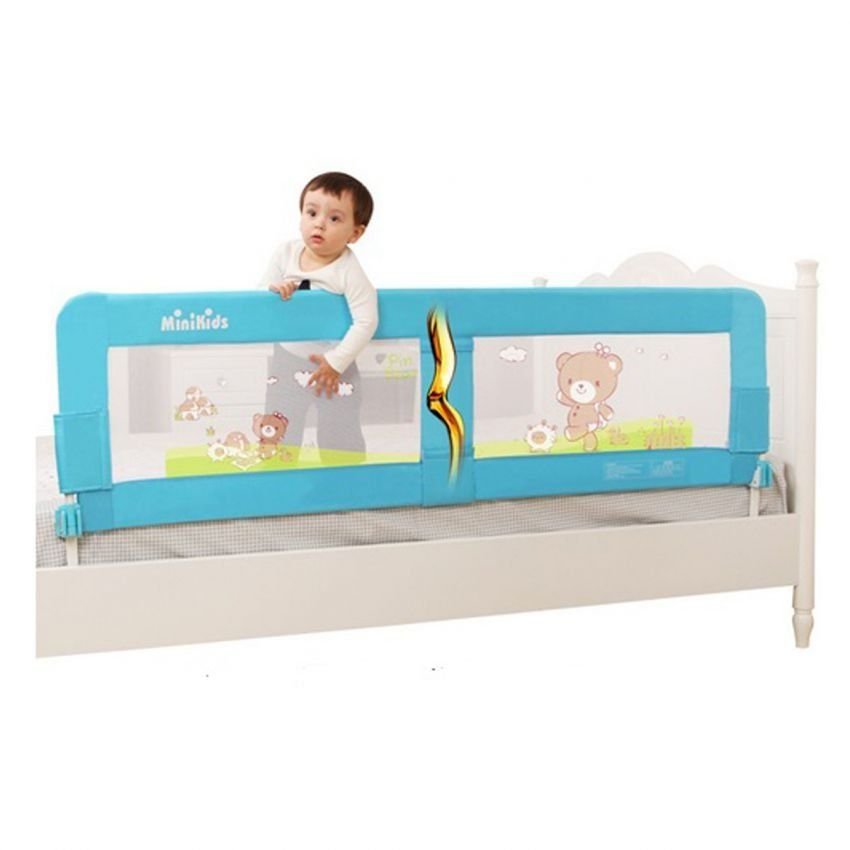 Minikids Baby Bed Rails Infant Bed Guard Rail Fence 18m