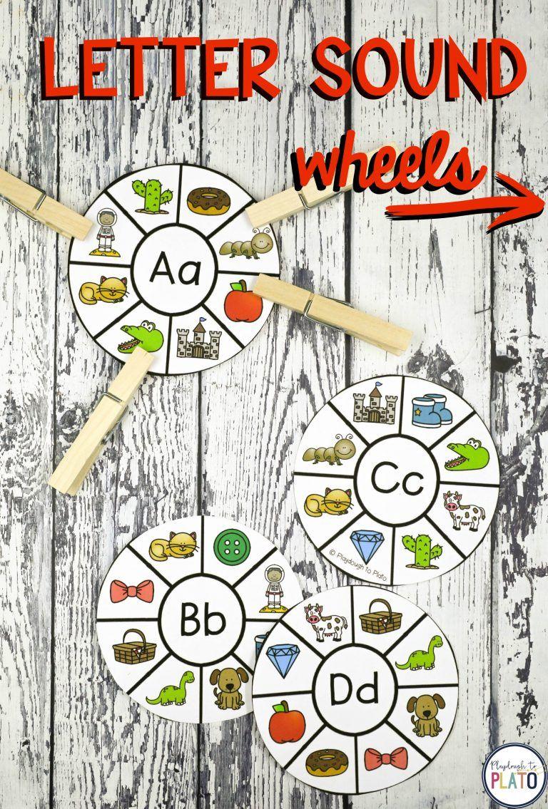 20 Alphabet Centers Letter sound activities, Teaching