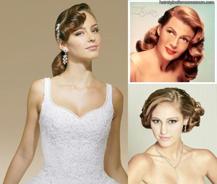Vintage Wedding Hairstyles For Medium Length Hair Bottom Right Wedding Hairstyles For Medium Hair Hair Styles Vintage Hairstyles