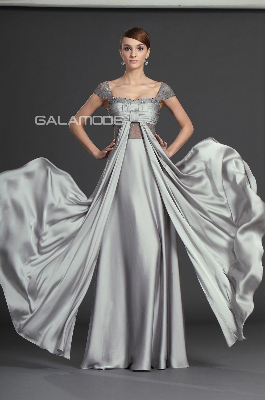Robe de Soirée  Robe Mère de Mariée Fourreau Taille Naturel Epeules  Enveloppantes cfb4b76503b