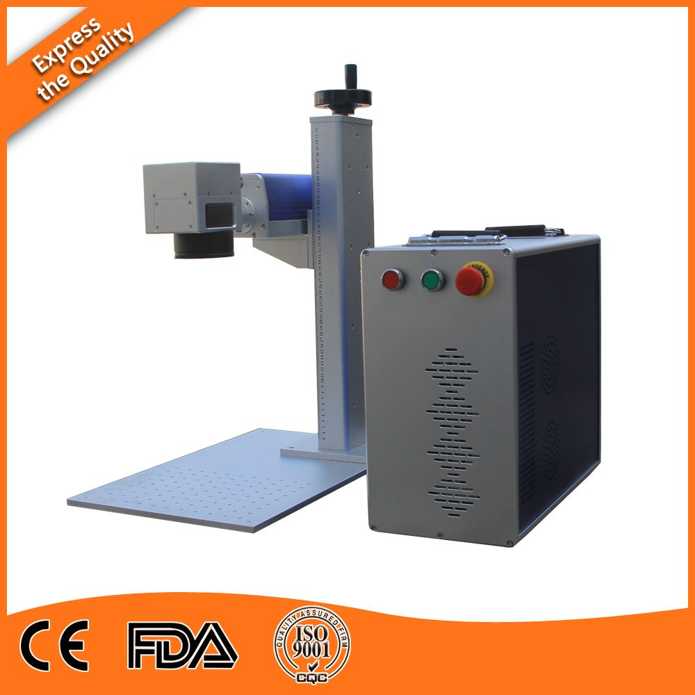 Cheap Configuration Desktop Fiber Laser Marking Machine 10w For Home And Small Enterprise With Images Card Making Machine Laser Marking Laser Engraving Machine