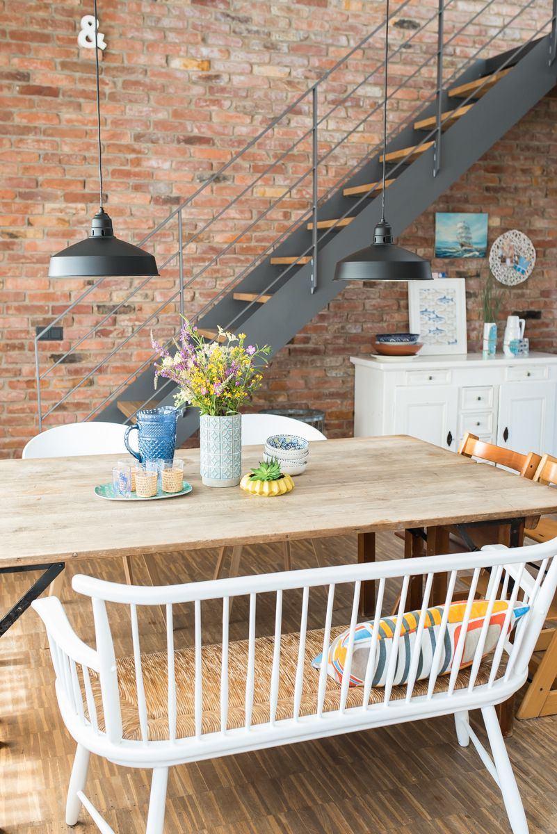 Einrichtungsideen für das sommerliche Wohnzimmer im vintage Look mit ...