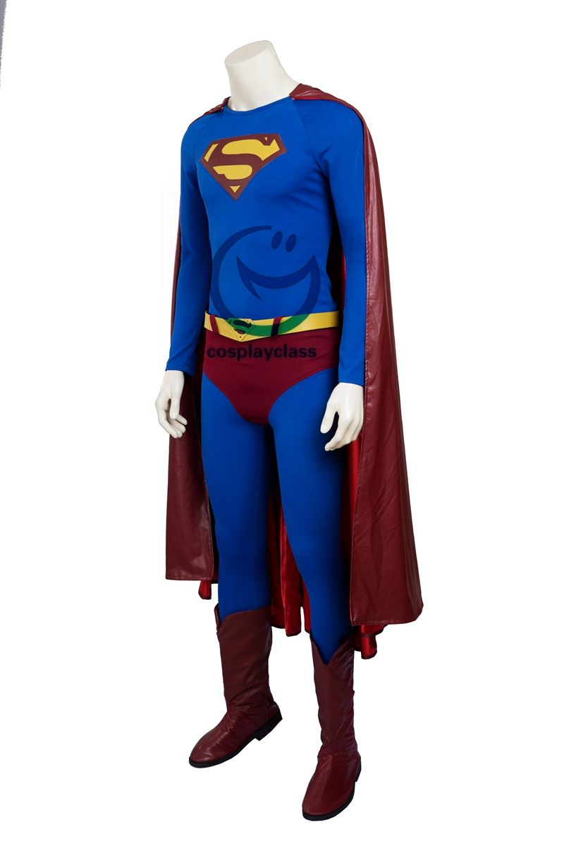 DC Superman Returns Superman Kal-El Clark Kent Cosplay Costume #superman # # costume