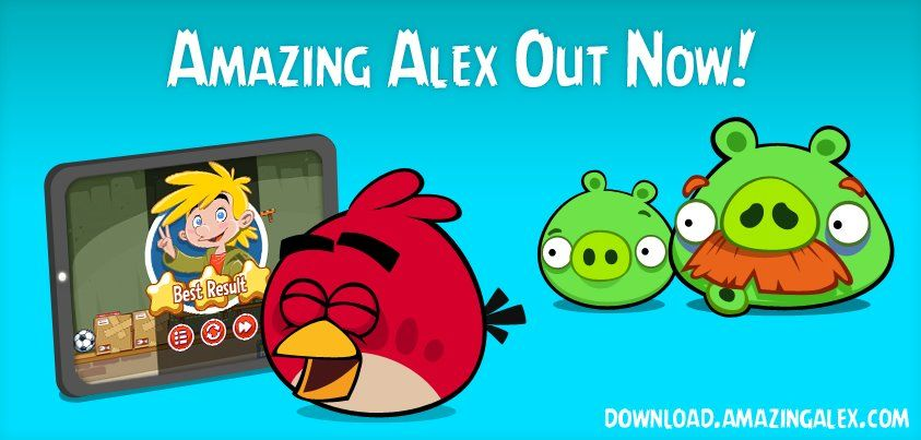 Amazing Alex Out Now!