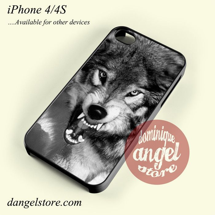 Angry Wolf Phone case for iPhone 4/4s and another iPhone devices