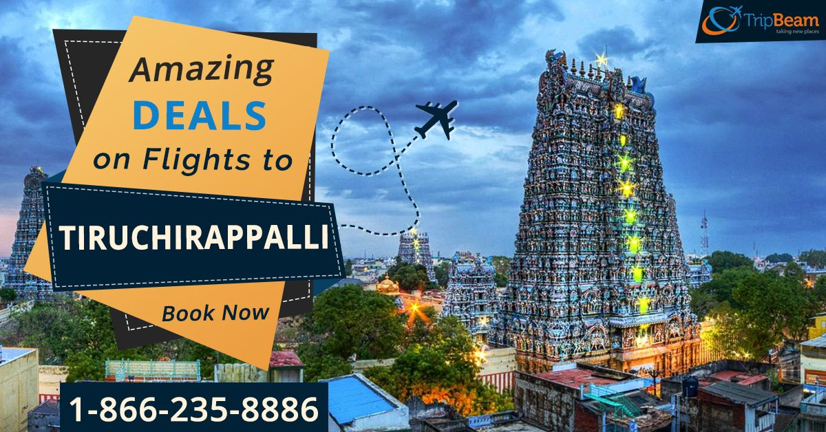 Planning Holidays in #Tiruchirappalli? Avail exclusive flight deals on #Tripbeam!To know more visit:   For more information: Contact us at: 1-866-235-8886 (Toll-Free)  #VisitTiruchirappalli #traveldeals #flightdeals #bookflights #vacations #cheapflights #TouristsPlaces #Bestflightsdeals #Holidays #travellife #cheapairfares