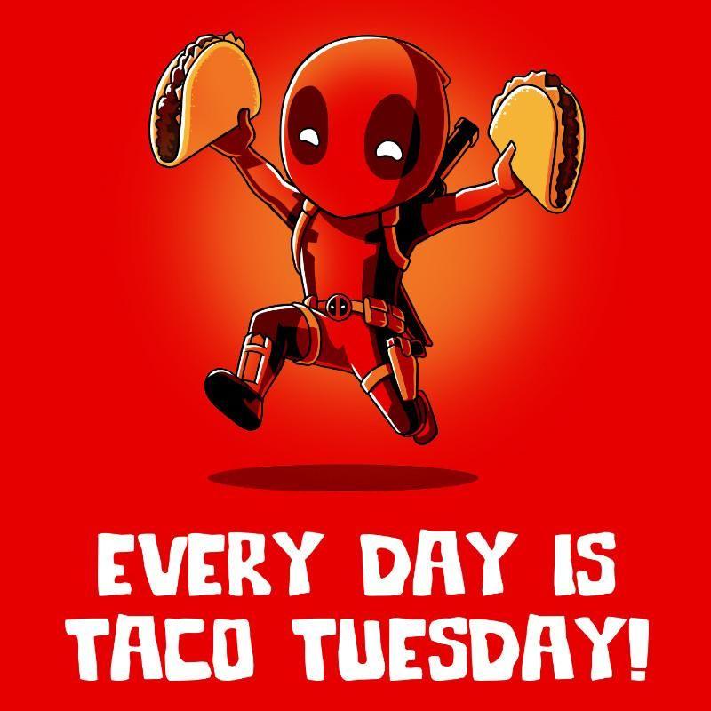 Deadpool Taco Tuesday T-shirt