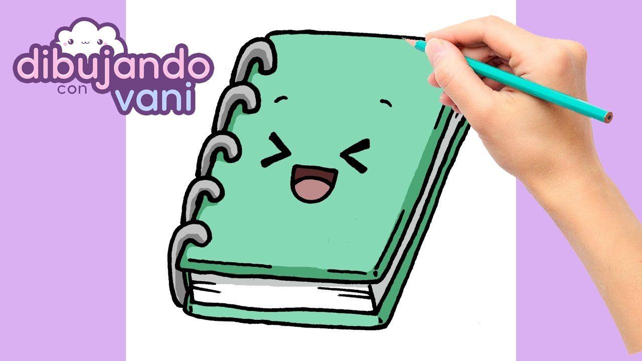 Como Dibujar Una Libreta Paso A Paso Dibujos Para Dibujar Imagenes F Como Dibujar Kawaii Dibujo Paso A Paso Como Dibujar