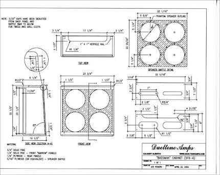 Resultado de imagem para guitar amp cabinet plans