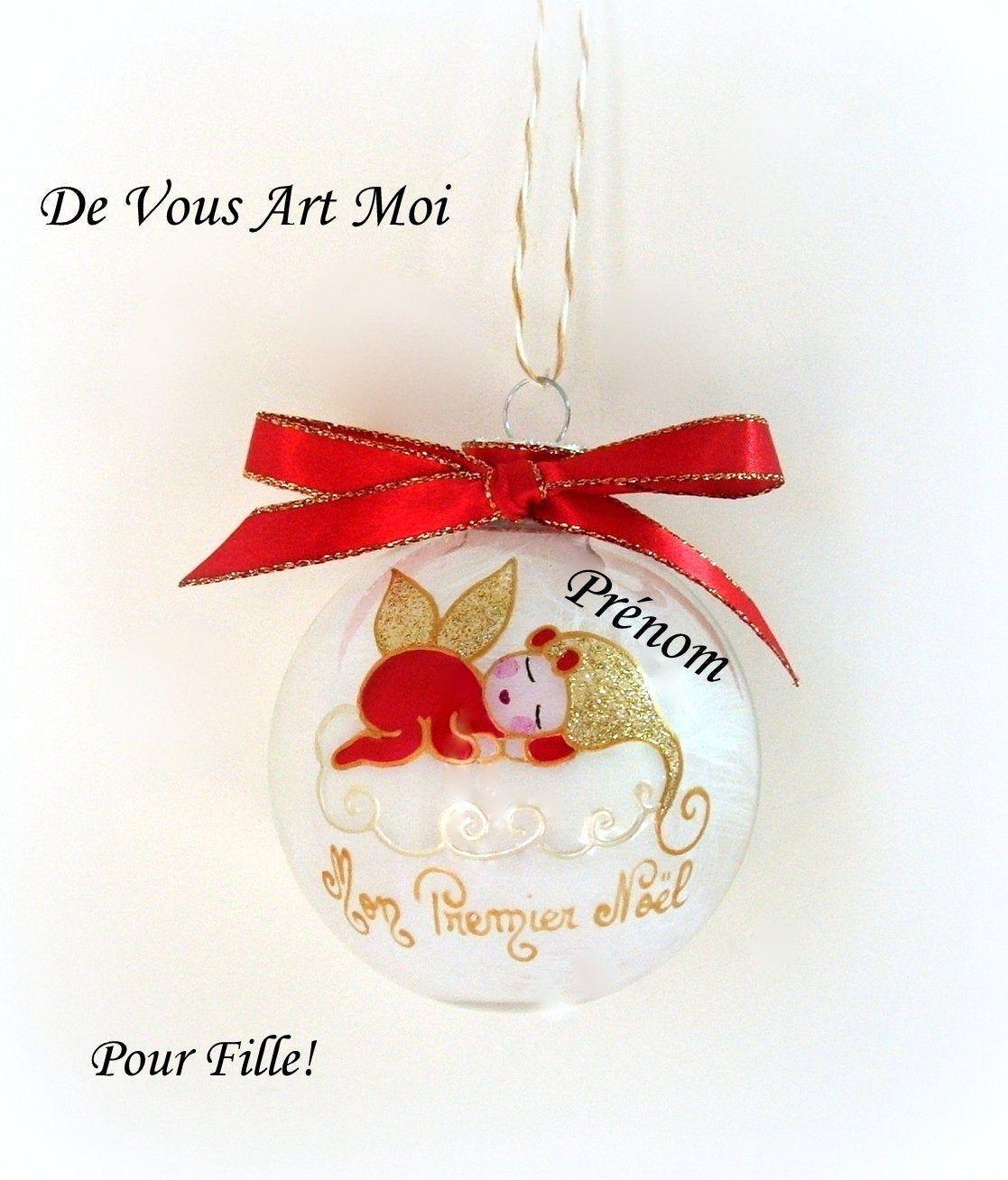 Épinglé par devousartmoi sur Boule de Noël personnalisées pour