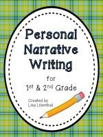 Personal Narrative Writing Packet for Primary Grades