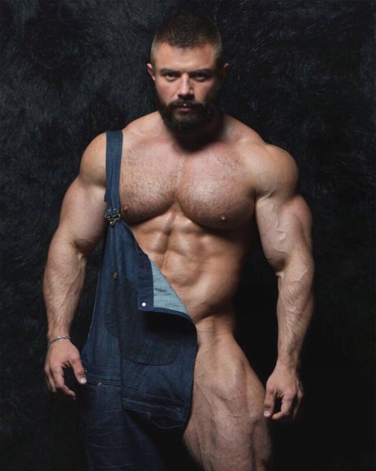 Hairy Muscular Hunk