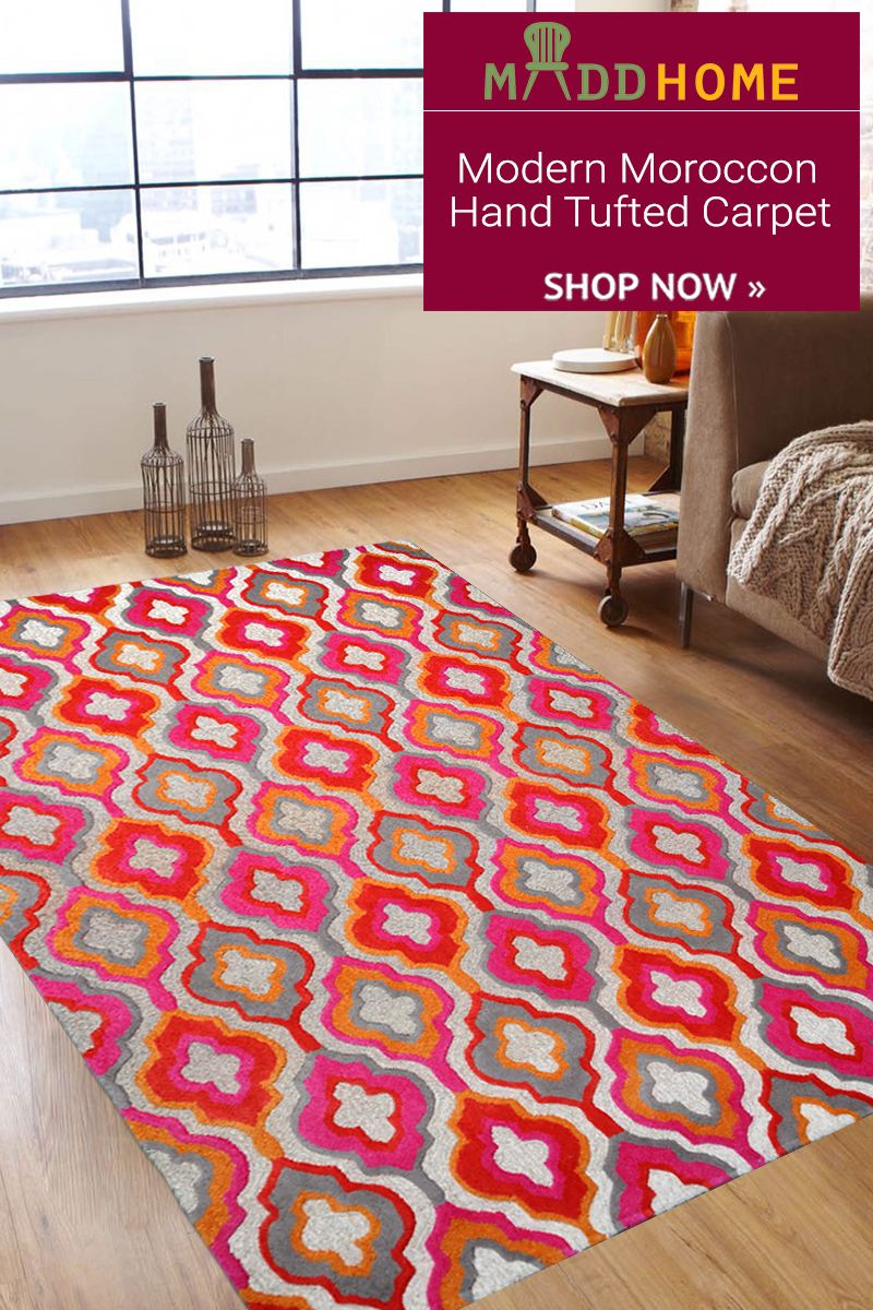 Modern Moroccon Hand Tufted Carpet For Your Beautiful Home Carpet Shops Carpets Online Rugs On Carpet