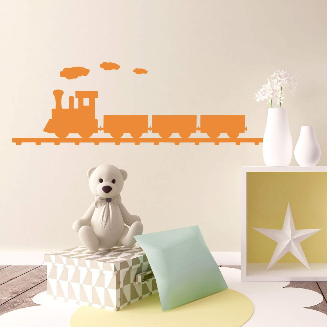 Best Steam Engine Wall Sticker Lots Of Colours And Sizes For 400 x 300