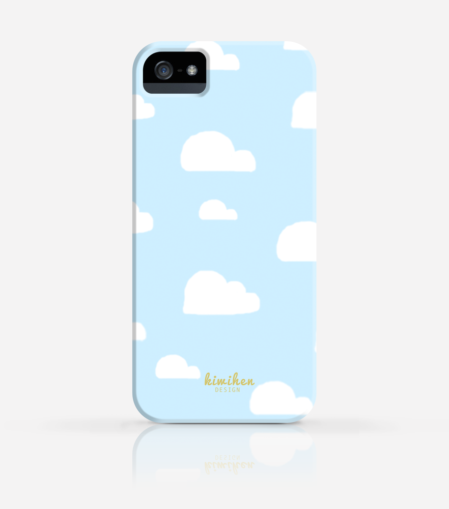 Toy Story Clouds Wallpaper Iphone 4 4s Iphone 5 5s Case Iphone