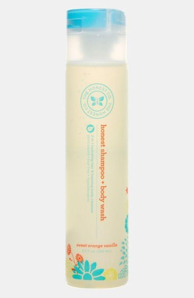 Infant The Honest Company Sweet Orange Vanilla Shampoo Body