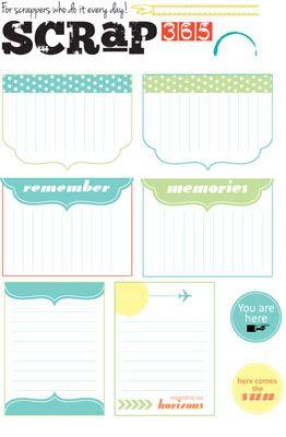 inspiredtomake - Summer Journal Cards