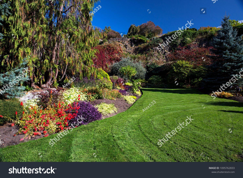 Nstanley Park Vancouver Blossoming Colorful Flowerbeds In Summer City Park Beautiful Natural Landscape Gardenin With Images Landscape Landscape Projects Landscape Plans