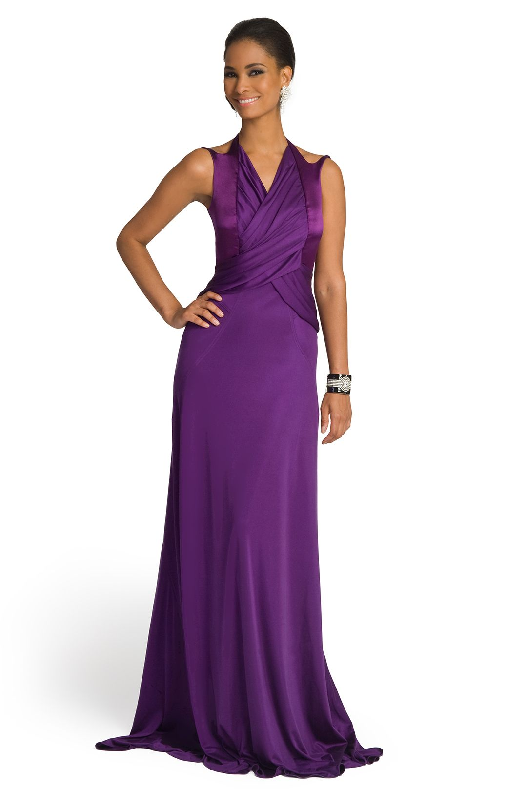 Violet Butterfly Gown | Pinterest