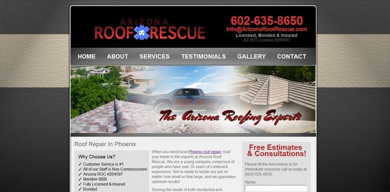 Arizona Wordpress Website Design And Seo For Contractors Wordpress Website Design Web Design Website Design