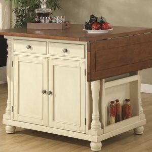 Kitchen Island Table With Drop Leaf
