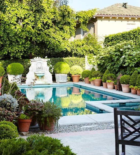 Remodeling Projects That Add Big Value Pool Landscaping Backyard Pool Backyard
