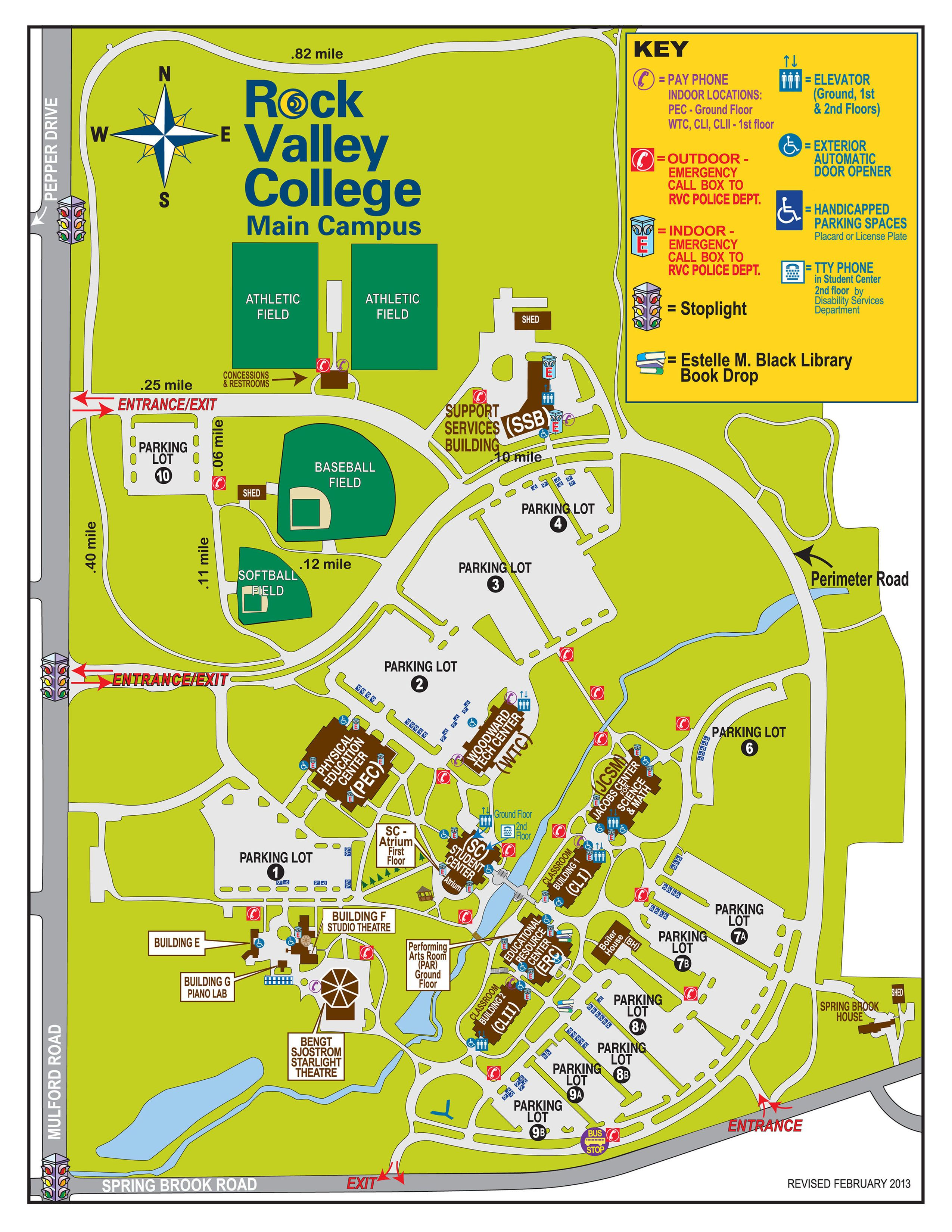Rvc Campus Map.Need Help Getting Around Rvc S Campus Here You Go Rvc Campus