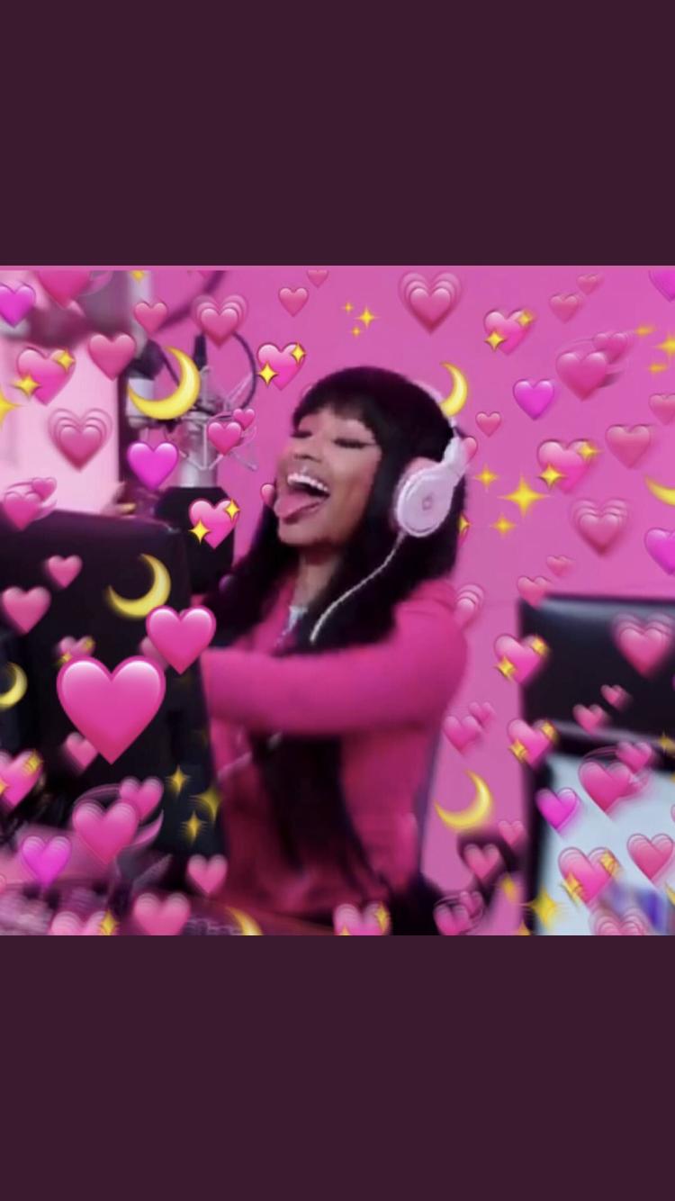 Wallpaper Nicki Minaj Pink Hair
