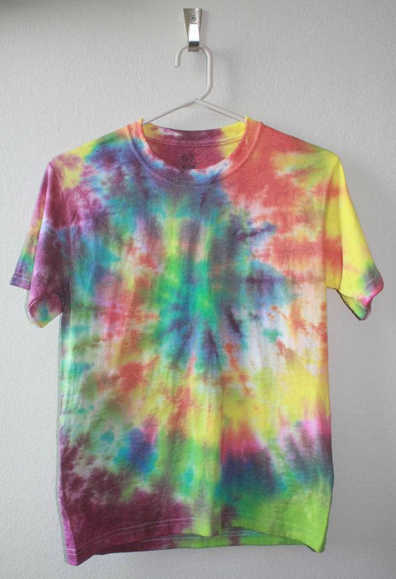 Unisex Tie Dye Shirt Spiral by TieDyeDominion on Etsy, $18.00