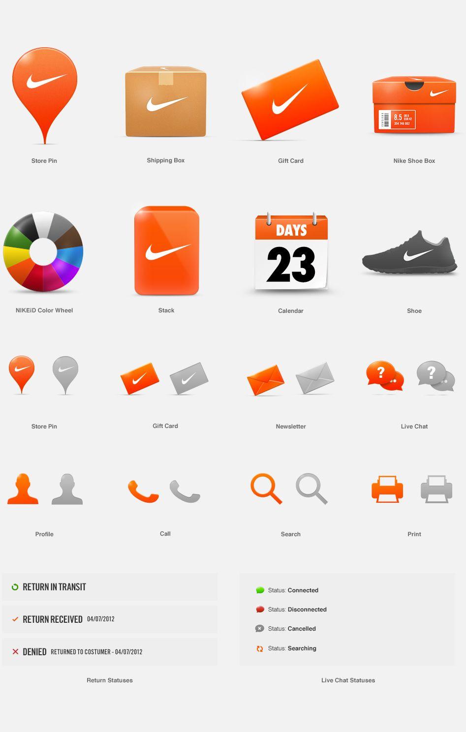 Nike Com On Behance Visual Design Website Design Icon Design