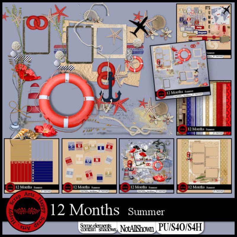 12 months Summer bundle (PU/S4H/FS)