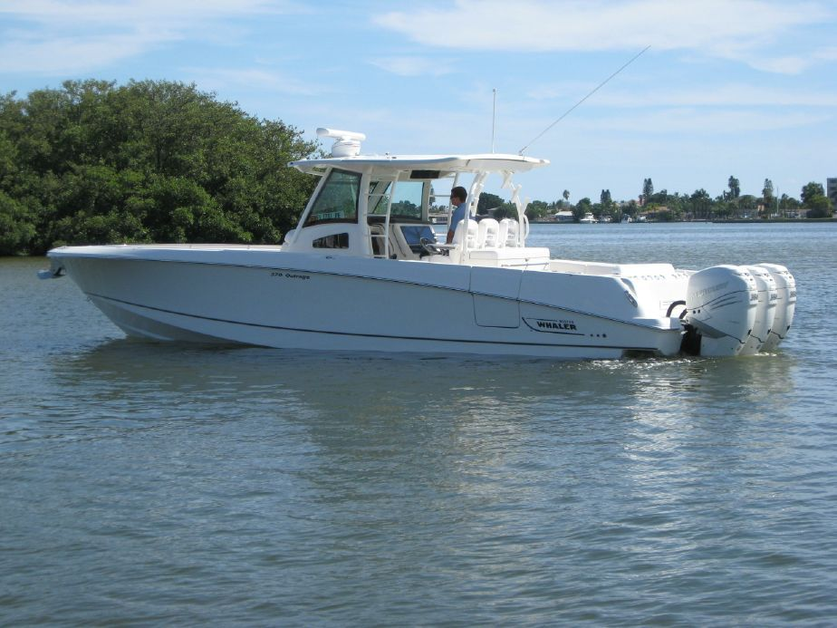 2016 Boston Whaler 370 Outrage Power Boat For Sale Www Yachtworld Com Boston Whaler Boat Power Boats