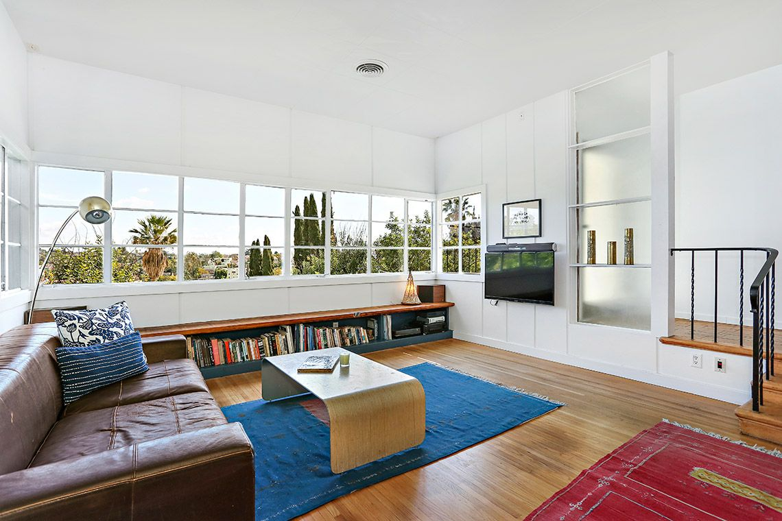1940s Silver Lake house with Streamline Moderne vibe wants $989K ...